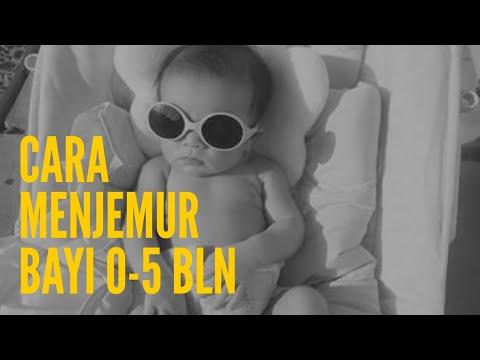 Begini Cara Menjemur Bayi Baru Lahir Yang Benar Agar Tidak ...