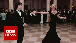Princess Diana Exhibition: A life in fashion - BBC News