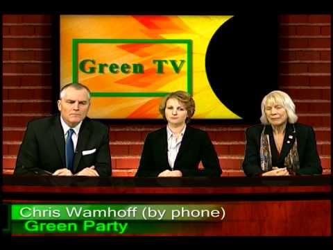 Green Party Green TV  Chris Wahmhoff