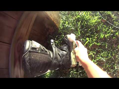 how to wash mx boots/part#2