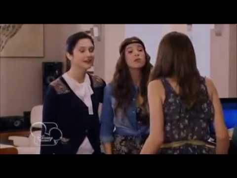 Camilla francesca et maxi viennent chez violetta pour chanter et termin par se cacher youtube - Violetta et maxi ...