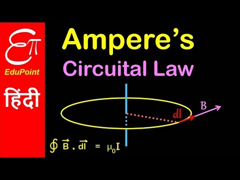Ampere's Circuital law   Video in Hindi   EduPoint