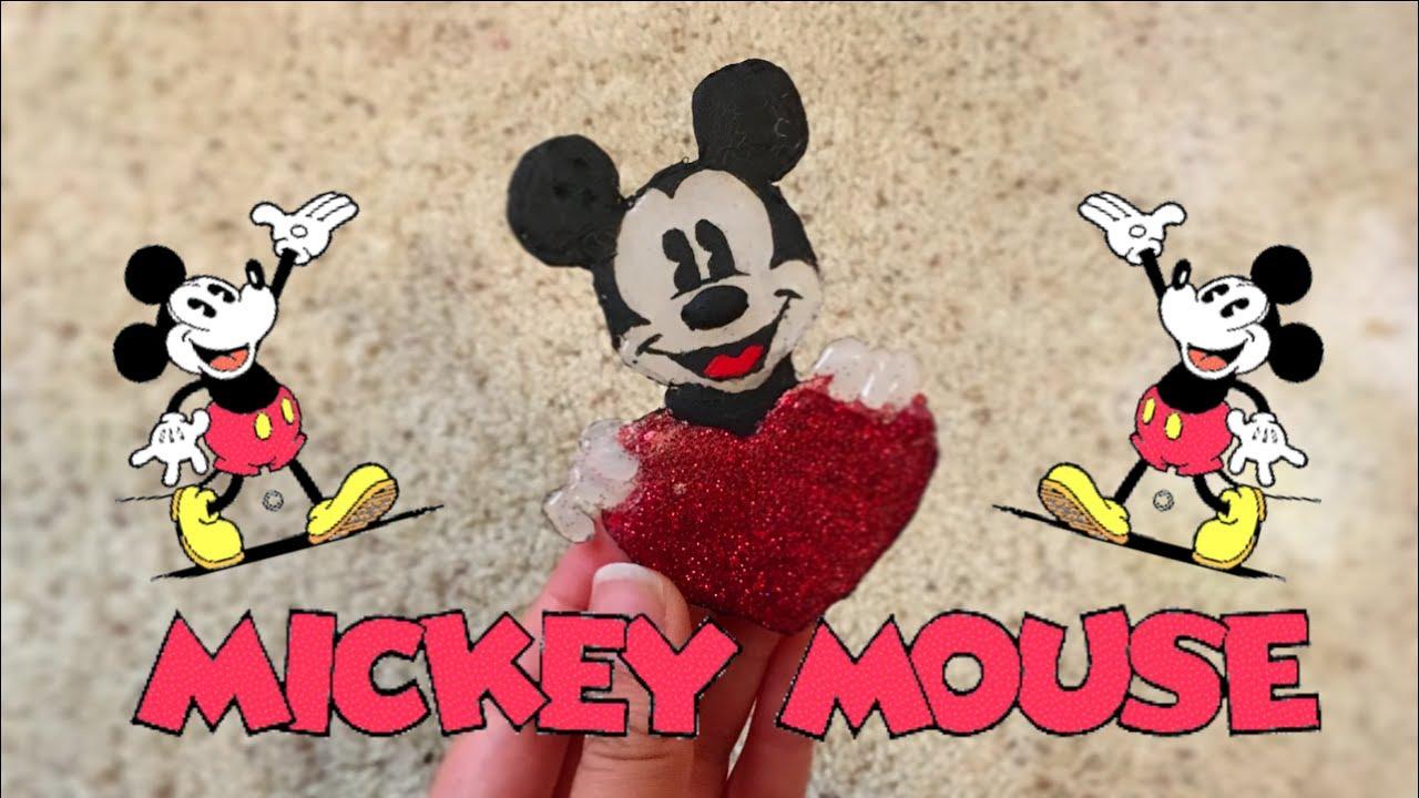 9a8c21a23 DIY Hot Glue Mickey Mouse ♥ - YouTube