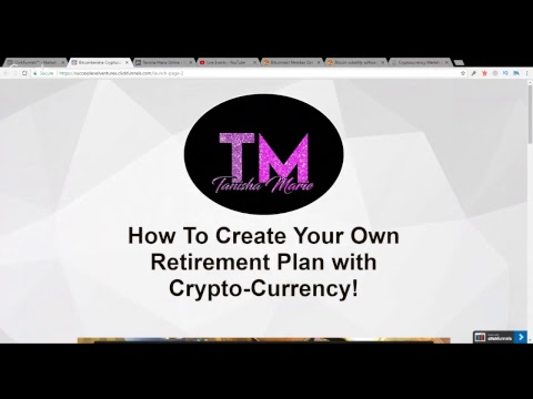 HOW TO USE CRYPTO-CURRENCY FOR RETIREMENT LIVE 9:30 AM EST