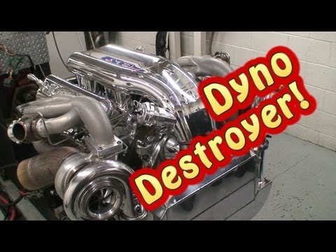 The Dyno Destroyer  Mirror Image Turbo 632 2200 HP BBC  Tom Nelson  Nelson  Racing Engines
