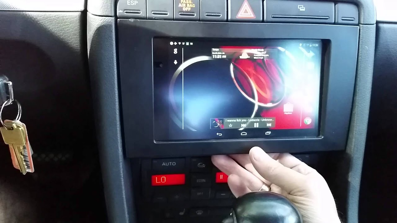 Audi a4 2006 nexus 7 tablet android in dash installation youtube audi a4 2006 nexus 7 tablet android in dash installation keyboard keysfo Image collections