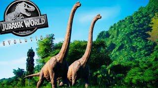 SAFARI DOS DINOSSAUROS [#1] | VALE ENCANTADO! MUNDO PERDIDO! | Jurassic World Evolution | (PT/BR)