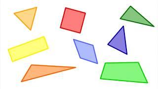 Математика 1 класс Урок 9 Четырёхугольник  Обозначение четырёхугольника