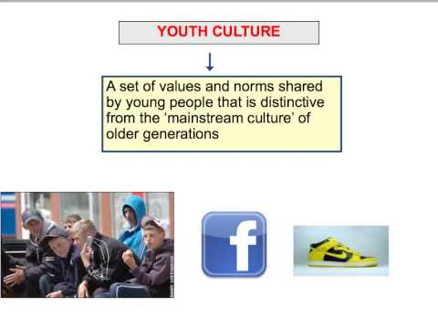 SY1 Youth Culture - Introduction To Key Concepts