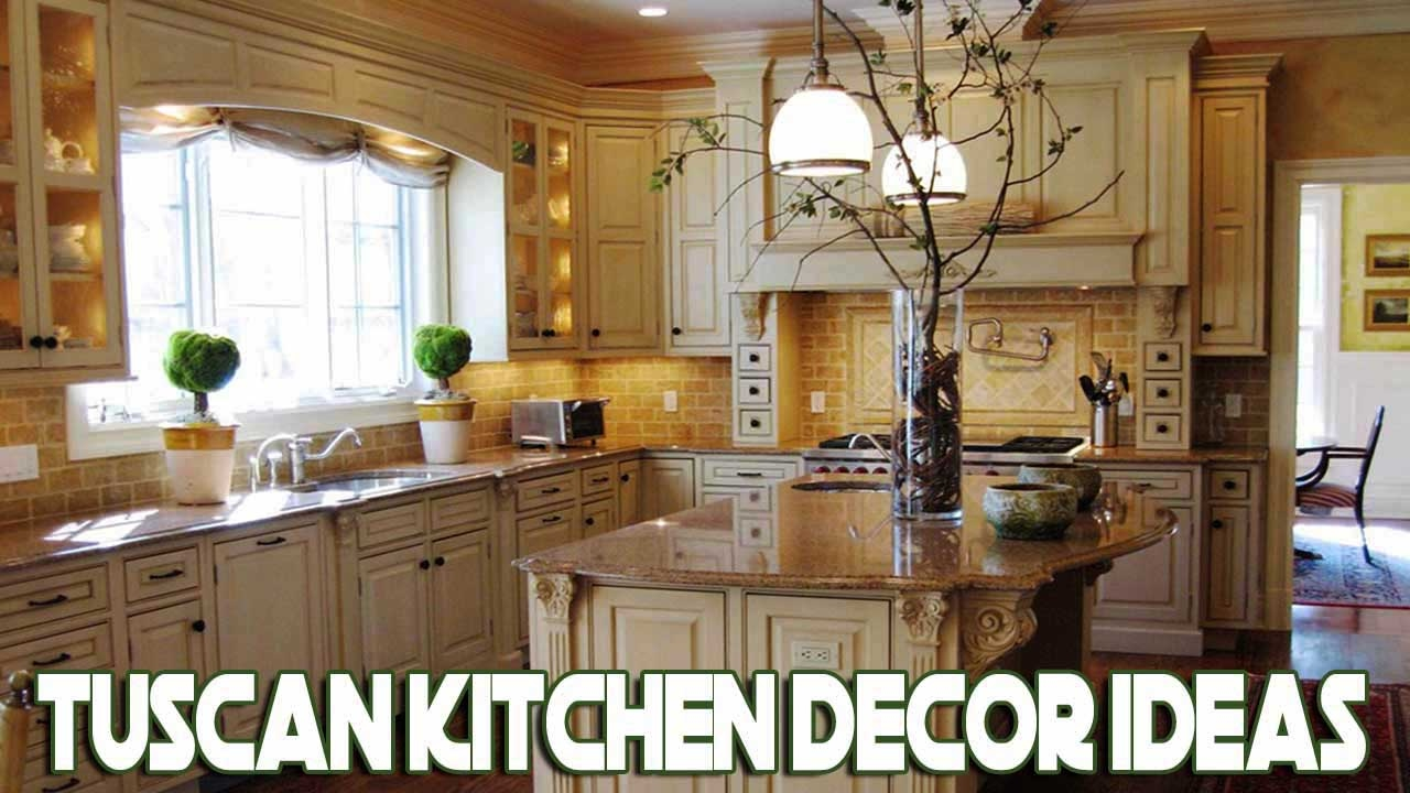 lovely tuscan kitchen design ideas | [Daily Decor] Tuscan Kitchen Decor Ideas - YouTube