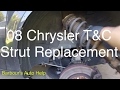 08 Chrysler Town and Country Struts and Strut Mounts Replacement