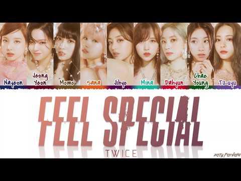 TWICE (트와이스) – 'FEEL SPECIAL' Lyrics [Color Coded_Han_Rom_Eng]