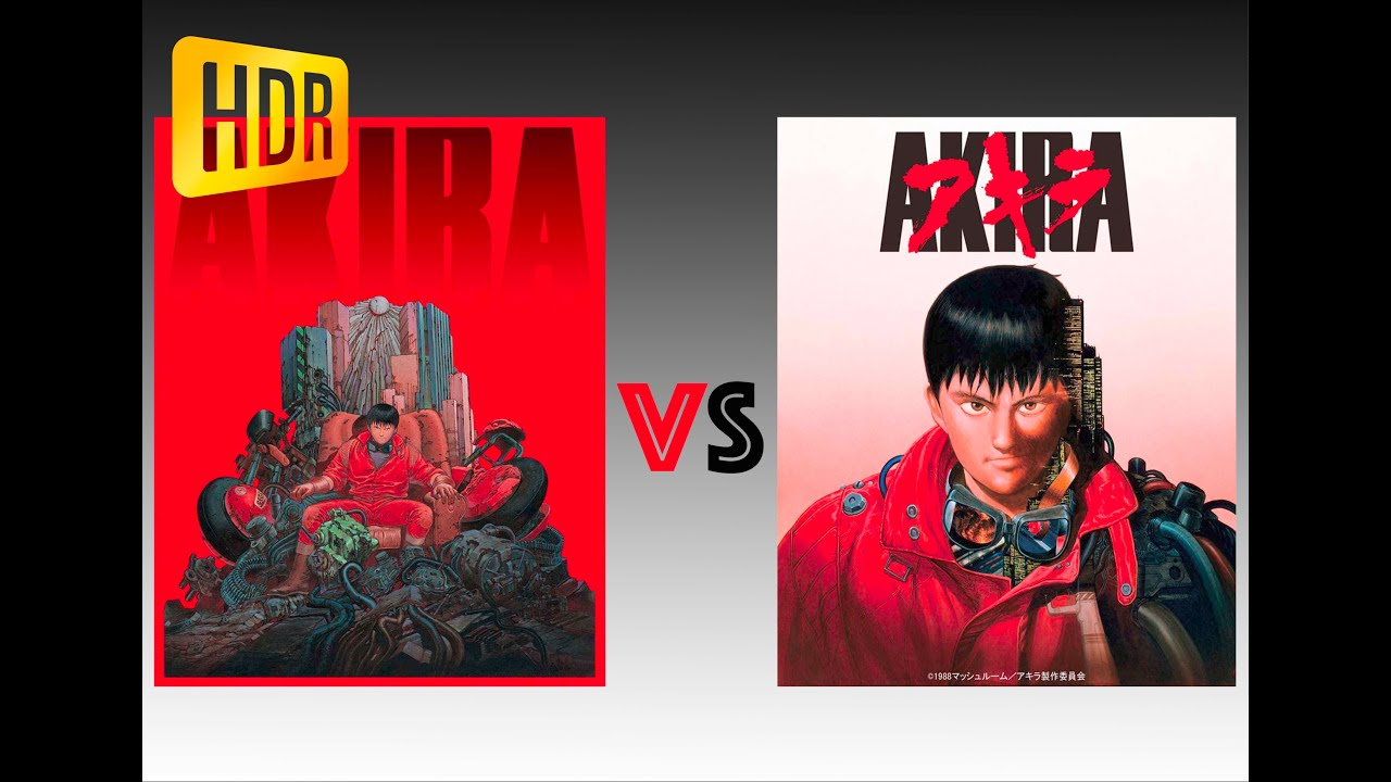 Comparison Of Akira 4k 4k Di Hdr10 Vs Remastered Version Youtube