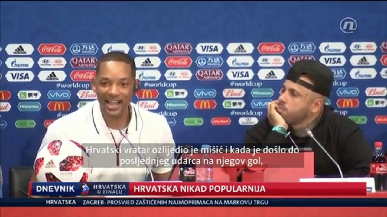 WILL SMITH talks about the CROATIA national team
