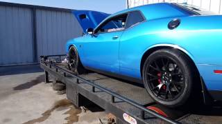 BWOODY/LMI/STOCK Intake Dyno Comparison on Big Blue (2016 Hellcat)