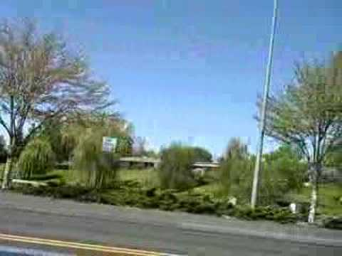 Driving Video From Downtown To Walmart In Moses Lake, WA