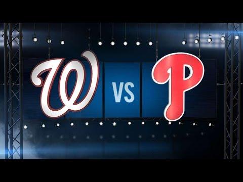 4/16/16: Scherzer, Harper power Nats to a win
