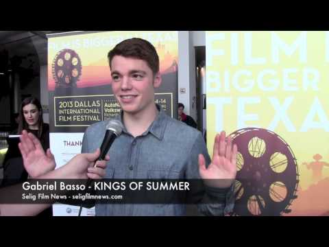 DIFF 2013 Red Carpet: Gabriel Basso - THE KINGS OF SUMMER