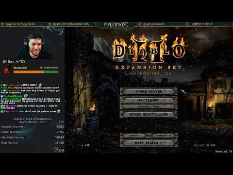 Diablo 2 - Holy Grail Sorc (11/12/2017)