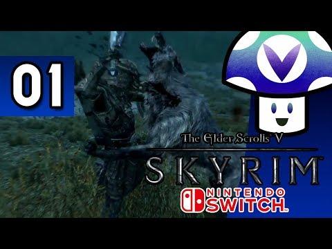 [Vinesauce] Vinny - The Elder Scrolls V: Skyrim [Switch] (part 1)
