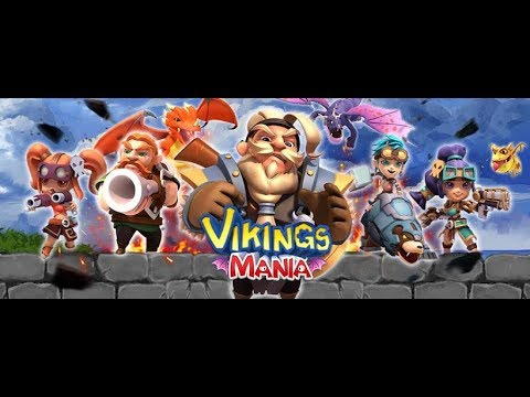 Vikings Mania Dragon Master android game first look gameplay español