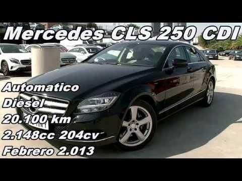 comparativa coches | Mercedes CLS 250 CDI coche de ocasion usado