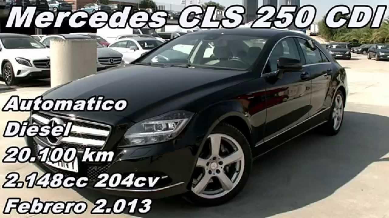Comparativa Coches Mercedes Cls 250 Cdi Coche De Ocasion Usado