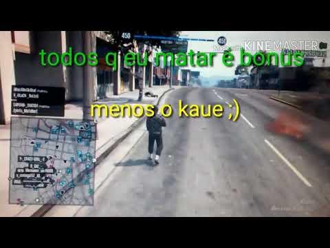 GTA v online: treta na sessão com Kauê player
