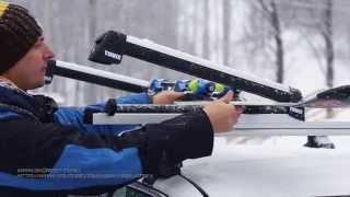 Обзор Thule. Багажники Для Лыж