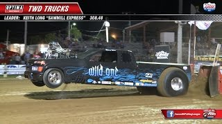 PPL 2014: 2WD Trucks Pulling at Wilmington, OH