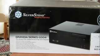 Корпус micro ATX Silverstone grandia GD04, unpacking / распаковка
