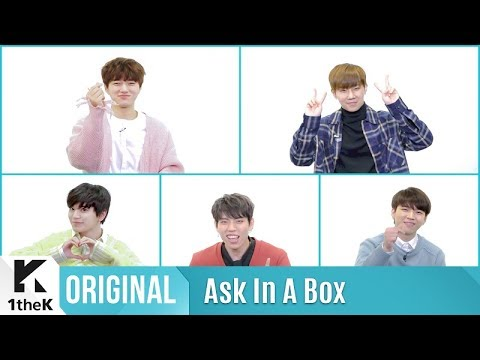 ASK IN A BOX(에스크 인 어 박스): INFINITE(인피니트) _ Tell Me
