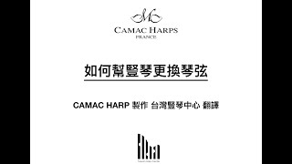 How to change harp strings 如何幫豎琴更換琴弦