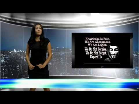 Anonymous Group Hacks News Teleprompter And Screen