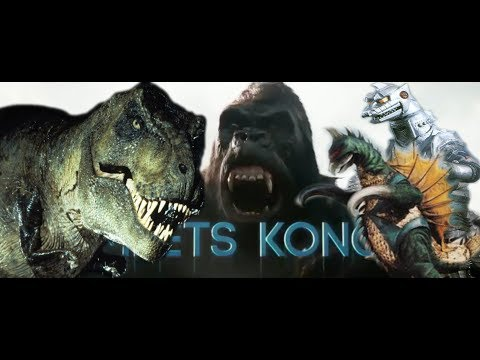 King Kong 2018 Design Revealed, MechaGodzilla and Gigan Appearing In Ready Player One, AND MORE!