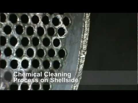 Chemical Cleaning of Shell Tube Heat Exchanger
