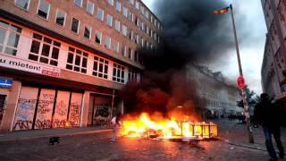 G20 - Wieder Ausschreitungen auf St.Pauli und in der Schanze