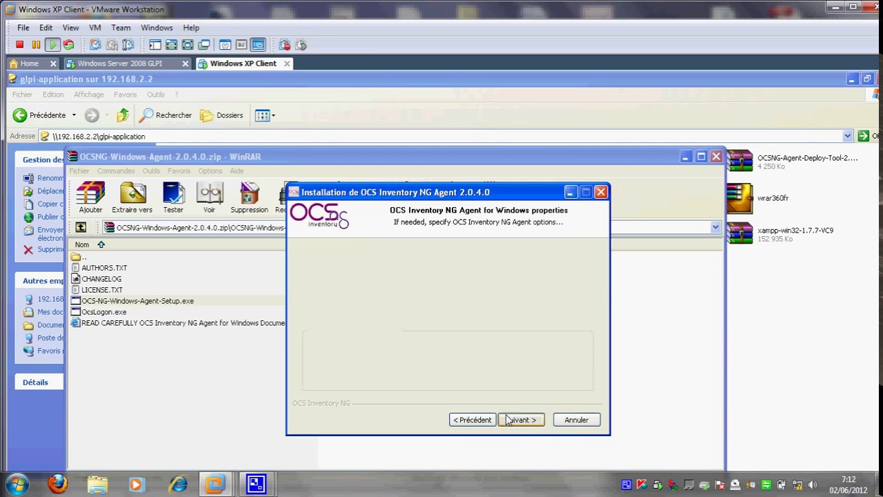 glpi windows 7