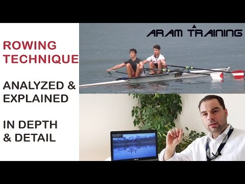 rowing technique for competitive athletes explained in depth and detail