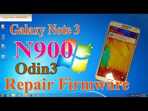 Flash firmware Galaxy Note 3 N900 với file Repair Firmware 5