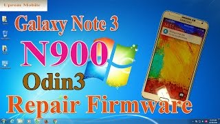 Flash firmware Galaxy Note 3 N900 với file Repair Firmware 5 0 ok by Odin3 ver 3.11.