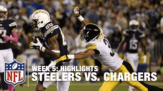 Steelers vs. Chargers | Week 5 Highlights | NFL