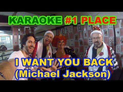 I Want You Back [Michael Jackson] - Elvis Gomes KARAOKE @ Food Zoo