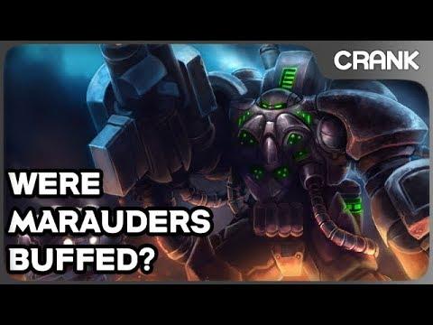 Were Marauders Buffed? - Crank's Variety StarCraft 2