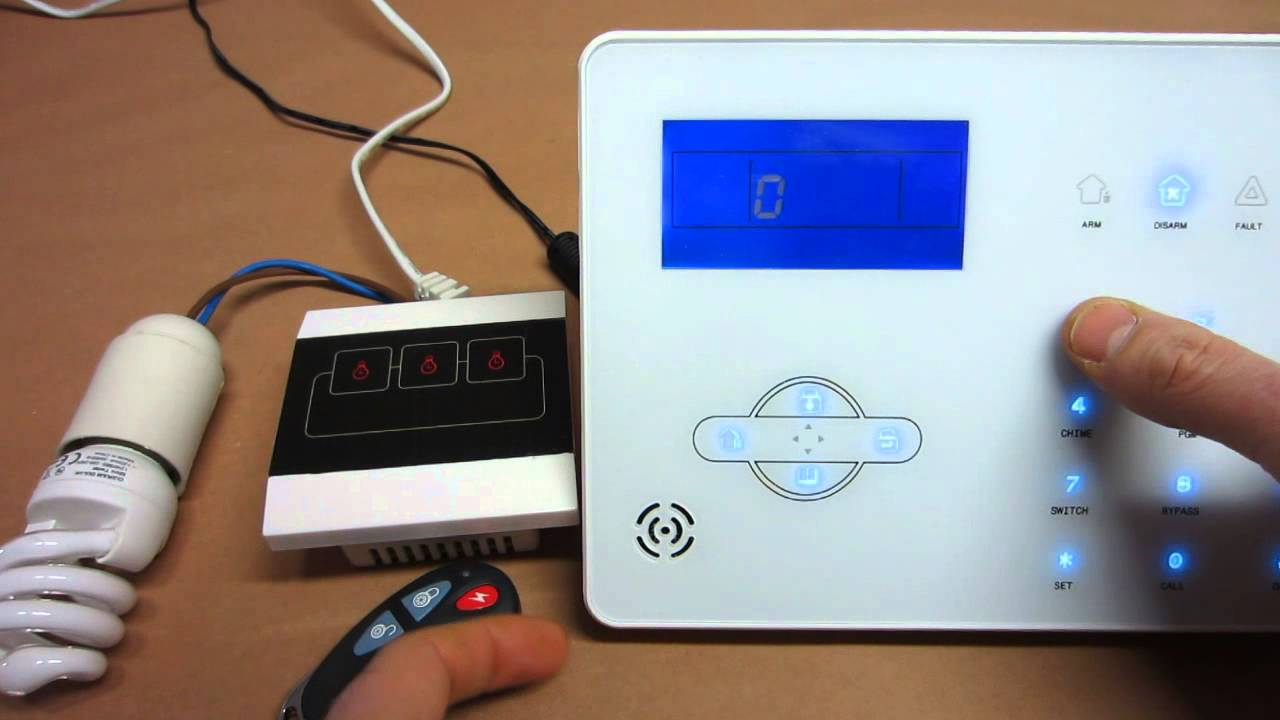 domotica wireless per la centralina powertouch 868mhz
