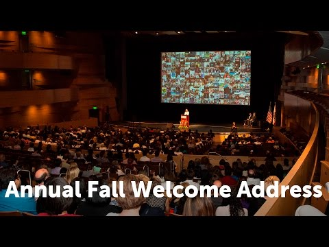 CSUN President's Annual Fall Welcome Address 2016
