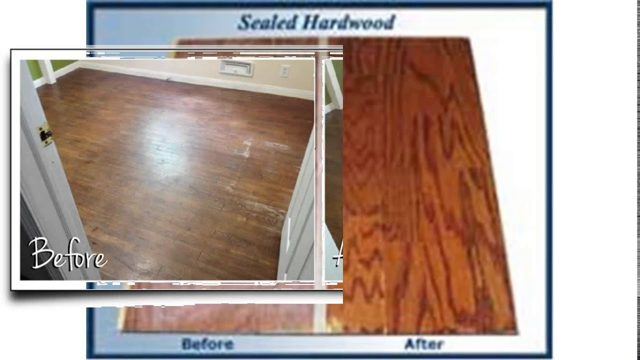 hardwood floor sealer - youtube