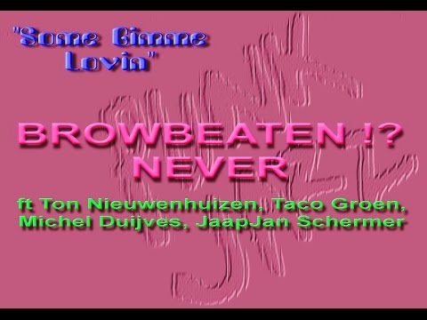 """Ton Nieuwenhuizen, Taco Groen, Michel Duijves, JaapJan Schermer ☕""""BROWBEATEN NEVER"""" 80s/90s"""