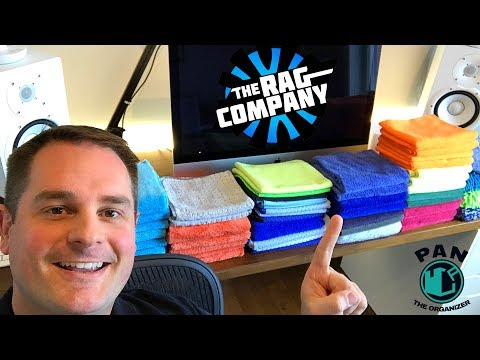 MICROFIBER TOWELS: THE RAG COMPANY BRAND REVIEW (including Eagle Edgeless, Pluffle, Everest...)