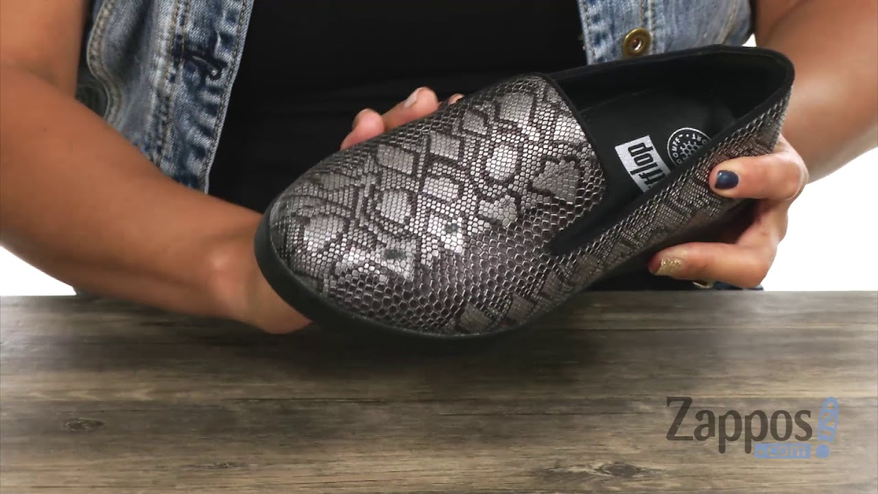 43554def277d FitFlop Audrey Python Print Smoking Slippers SKU  9076549 - YouTube
